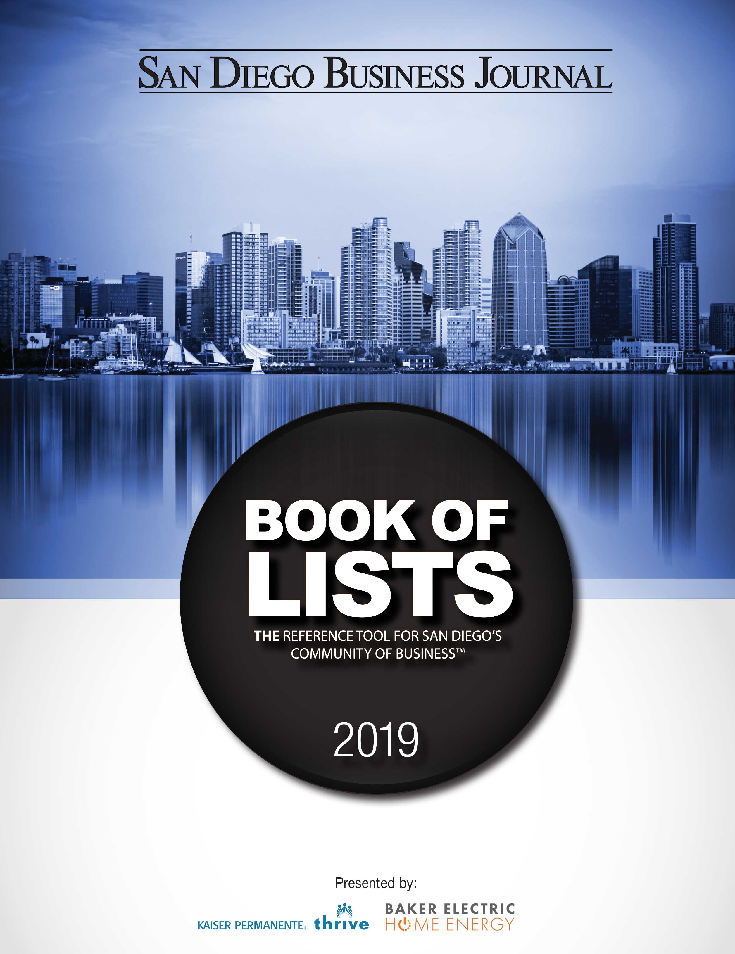Veyo Makes SDBJ 2019 Book of Lists